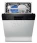 Zmywarka Do Zabudowy ELECTROLUX ESI 6600RAK (60cm, Panel Otwarty, Czarny)