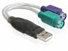 Adapter Usb -> 2x Ps/2 (usb A-m -> 2x 6pin F)