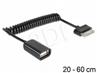 Adapter Wtyk Samsung (30pin)- Af Usb 2.0 Otg Spira