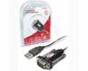 Konwerter UNITEK Usb - 1xrs-232 +adapter Db9f/db25m