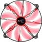 Wentylator AEROCOOL Master Red Led - 200x200x20mm