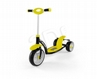 Hulajnoga Crazy Scooter Yellow MILLY MALLY