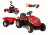 Traktor Czerwony Z Przyczepą SMOBY 33045