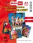 AP4-200G20 ACTIVEJET Papier Foto Błyszczący         A4  20szt  200g