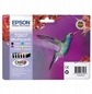 Zestaw EPSON T0807 C/m/y/k/lc/lm Multipack Claria  stylus Photo R265/285/360,rx560/585/685
