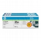 Dual Pack Toner Hp Black CB435AD