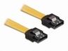 Kabel Do Dysku S-ata (z Metalowymi Zaciskami) 0.5m