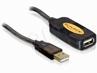 Kabel Usb 2.0 A-a M/f Przedłużacz Aktywny 10m