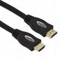 Titanum Kabel Hdmi-hdmi Gold 1,8m| Hd| Klasa 1,4| 3d Ethernet| Pozłacane Wtyki| Proste Złącze| Ekranowany| Miedziany TB