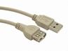 Kabel Usb 2.0 A-a M/f 0.75m Przedłużacz