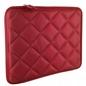 4WORLD Etui Pikowane Notebook 420x330x20mm 15.6'' Czerwone