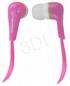 ESPERANZA Słuchawki Douszne Audio Stereo EH146P Lollipop Różowe