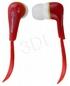 ESPERANZA Słuchawki Douszne Audio Stereo EH146R Lollipop Czerwone