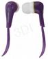 ESPERANZA Słuchawki Douszne Audio Stereo EH146V Lollipop Fioletowe