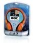 Słuchawki Z Mikrofonem I-box D-12 Orange 1-plug