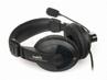 Słuchawki NATEC Grizzly Black-blue + Mikrofon