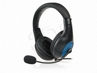 Słuchawki NATEC Panda Black-blue + Mikrofon