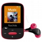 SANDISK Mp3 Sansa Clip Sports 8gb Różowa