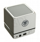 Głośnik Bluetooth SNAKEBYTE Cube White - Biały