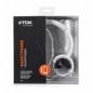 Słuchawki Nagłowne St170 White Z Mikrofonem  i Opcją Sterowania Smartphona ( Samsung, Lg, Iphone)
