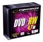 Dvd+rw ESPERANZA 4.7gb 4xspeed (slim 10szt)