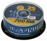 Cd-r PLATINUM 700mb/80min 52xspeed (cake 25szt)