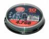 Dvd-r PLATINUM 4.7gb 16xspeed (cake 10szt)