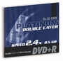 Dvd+r PLATINUM 8.5gb 2.4xspeed Double Layer (jewel Case 1szt)