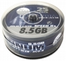 Dvd+r PLATINUM 8.5gb X8 Double Layer Cake 25