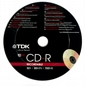Cd-r TDK 700mb 52x Puck 10szt