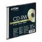 Cd-rw  TDK 700mb 4x-12x 10p Sjc