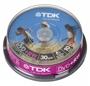 Dvd+rw TDK 1,4 Gb  cake 10