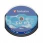 Cd-r VERBATIM 43437700mb/80data Life Cake 10szt