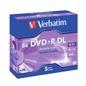 Dvd+r VERBATIM 43541 8.5gb 8x Double Layer Box 5 Szt