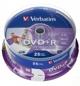 Dvd+r 16x 4.7gb 25p Cb Printable VERBATIM