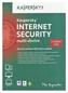 KASPERSKY Internet Sec. 2014 Pl 5dt 2y Box