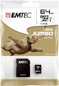 EMTEC Micro Sd 64gb Class 10 + Adapter