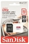 SANDISK Micro Sd 32gb Ultra Class 10 Uhs-i + Adap.