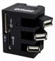 ESPERANZA Combo Hub+czytnik Kart 3-porty 2.0 EA131