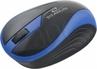 Titanum Mysz Butterfly Optyczna Bezprzewodowa 3 Przyciski | 1000 Dpi | 2,4ghz | Niebieska TM113B
