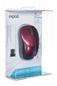 RAPOO Mysz Optyczna Bezprzewodowa 5g 1090p Czerwona
