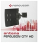 Antena Dvb-t Zewnętrzna FERGUSON CITY HD Aktywna