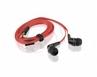 Słuchawki Douszne Kanałowe I-box Hpi P004 Red