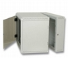 """TRITON 19"""" Szafa Wisząca Jednosekcyjna RBA-12-AS5-CAX-A1 (12u, 500mm Głębokośc, Przeszklone Drzwi, Kolor Jasnoszary Ral"""