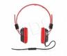 MODECOM Słuchawki Nagłowne Z Mikrofonem Mc-400 Circut Czerwone