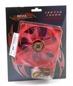 Wentylator REVOLTEC (RL027) Dark Red - 120x120x25 - Led Czerwone