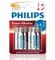Bateria PHILIPS Lr6p6bp/10 Powerlife 6szt W Blistrze ( Technologia Alkaliczna Idealna Do Urządzeń O Dużym Poborze Energ