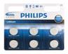 Bateria Pastylkowa PHILIPS CR2032P6/01B Lithium ( 6szt )