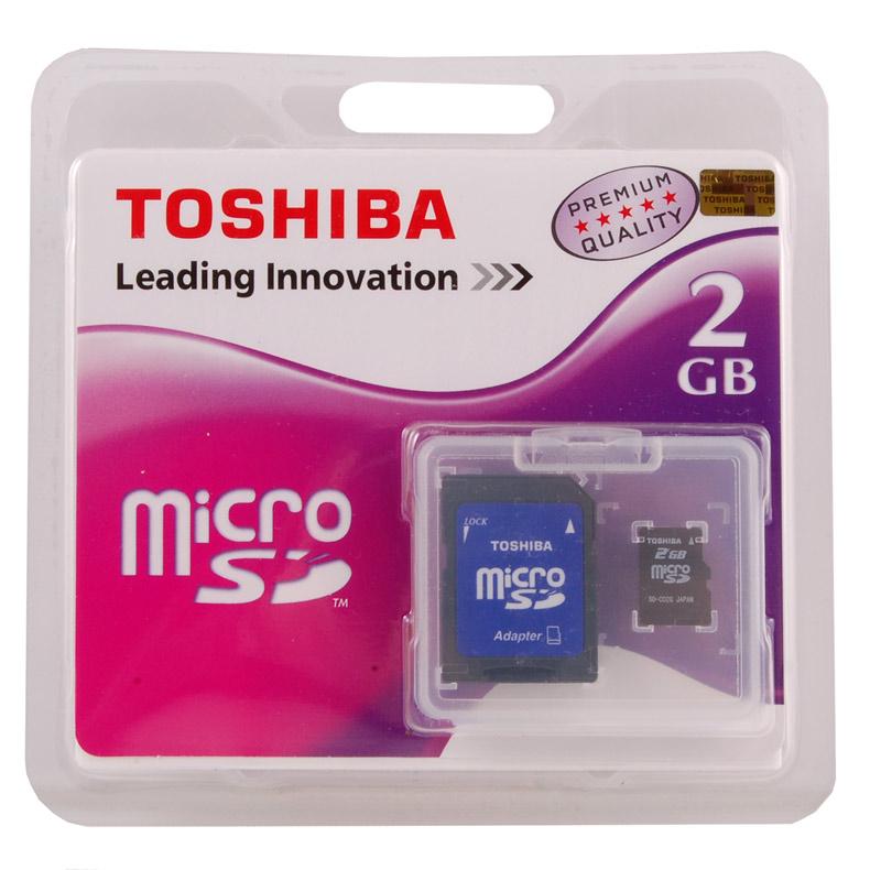 Toshiba microsd 2